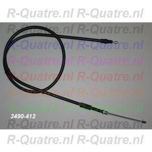Handremkabel Achter  L=R  4 GTL - Clan - R4F4 - Savanne mod 84->