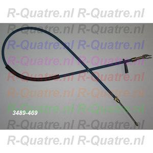 Handremkabel R.Achter  R4 GTL / 4F6  ->12-'83