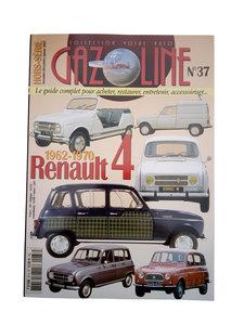 RENAULT 4 Historie 1962 - 1970       Gazoline Nr.37