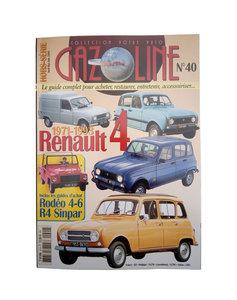 RENAULT 4 Historie  1971 - 1993      Gazoline Nr. 40