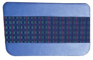 Set deurpanelen (4) blauw  design