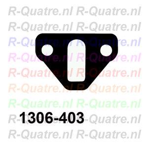 Afstand/ Isolatieplaat Benzinepomp (2 montagegaten)