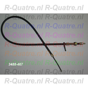 Handremkabel LinksAchter  R4 GTL / 4F6 ->12-'83