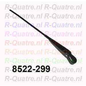 Ruitenwisserarm Zwart L=R