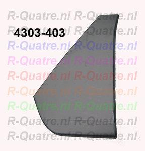 Reparatiedeel driehoekpaneel Links