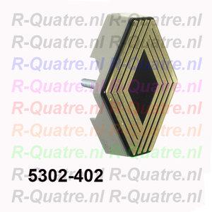 Logo 2e uitv. t.b.v.  aluminium grille  mod 2