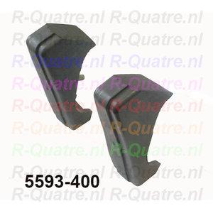 Set bumperroset stootrubbers tbv voor of achterbumper
