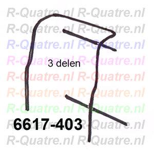 Set achterdeurrubbers (3)  R4F4