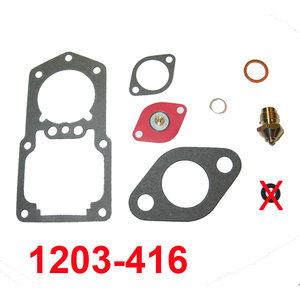 Revisiesetje Carburateur Zenith 28 IF   EXCL.  gasklepkeerring !