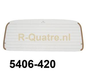 Achterruit met verwarming Renault 4 / F4 (aftermarket)