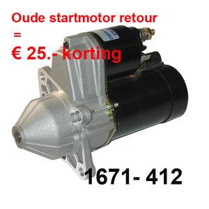 Startmotor 2-gats 12 V