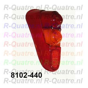Achterlichtglas LA  Renault 4   prod. Aftermarket
