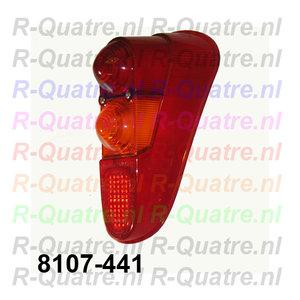 Achterlichtglas RA  Renault 4  prod.Aftermarket