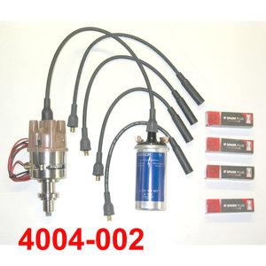 Set 2  Electronische ontsteking mot. Billancourt Mot B1B + vacuum